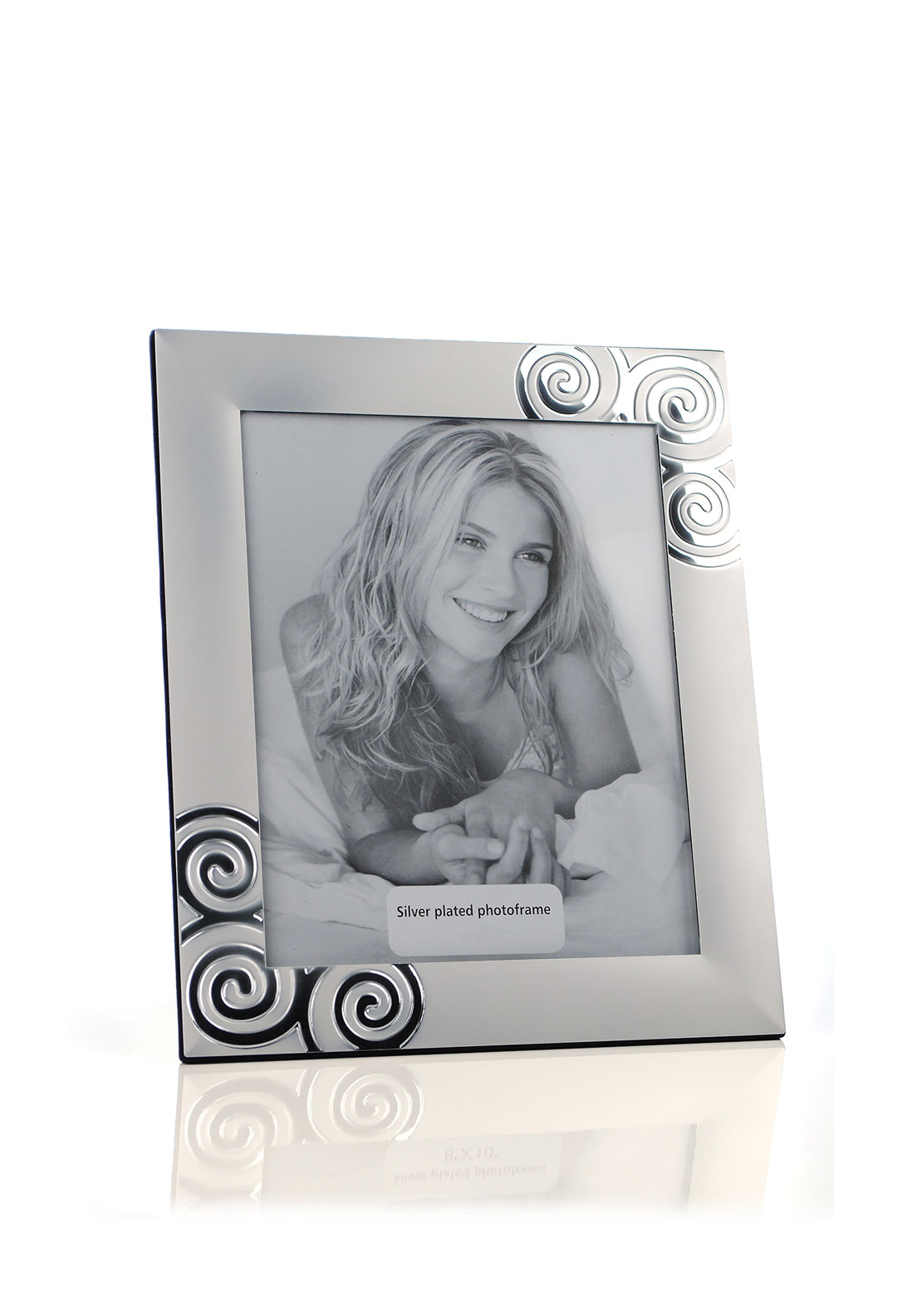 Frame It Silver Plated Photo Frame, 8 x 6 inches