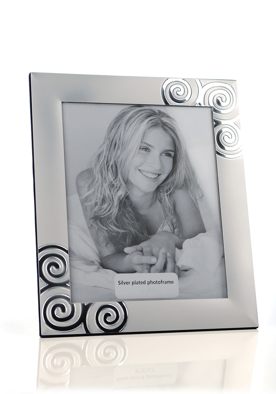 Frame It Silver Plated Photo Frame, 8 x 10 inches