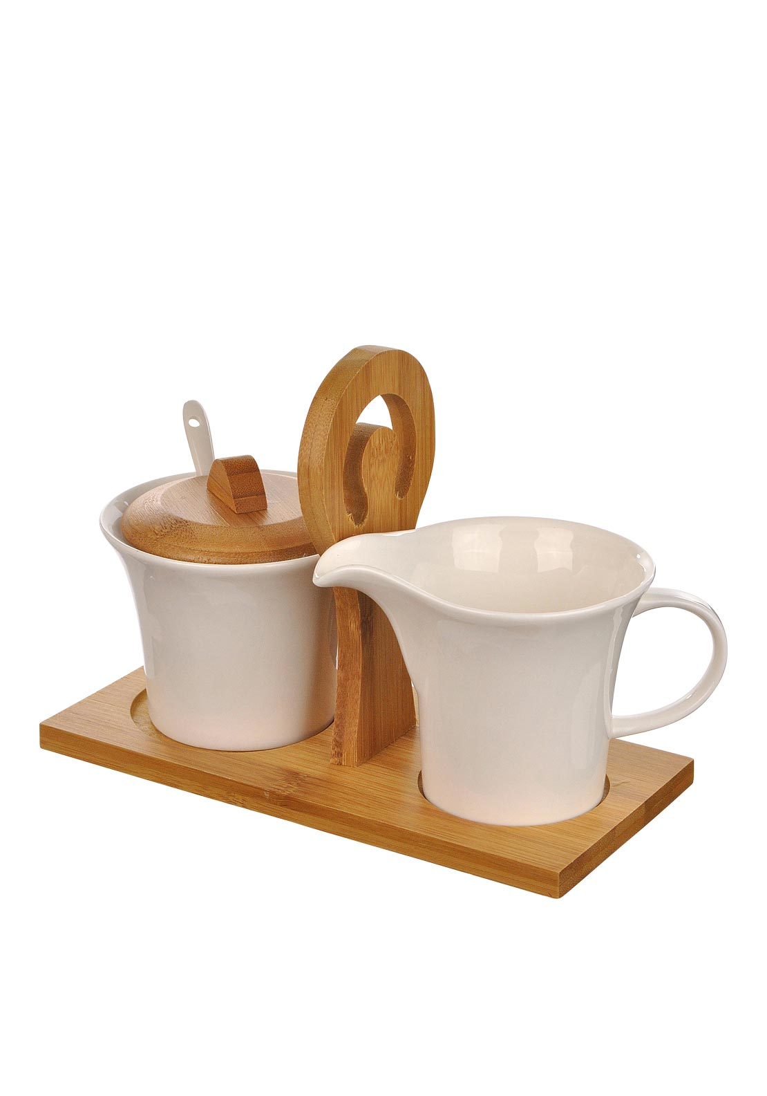 Slaneyside Pottery Sugar and Cream Set, White