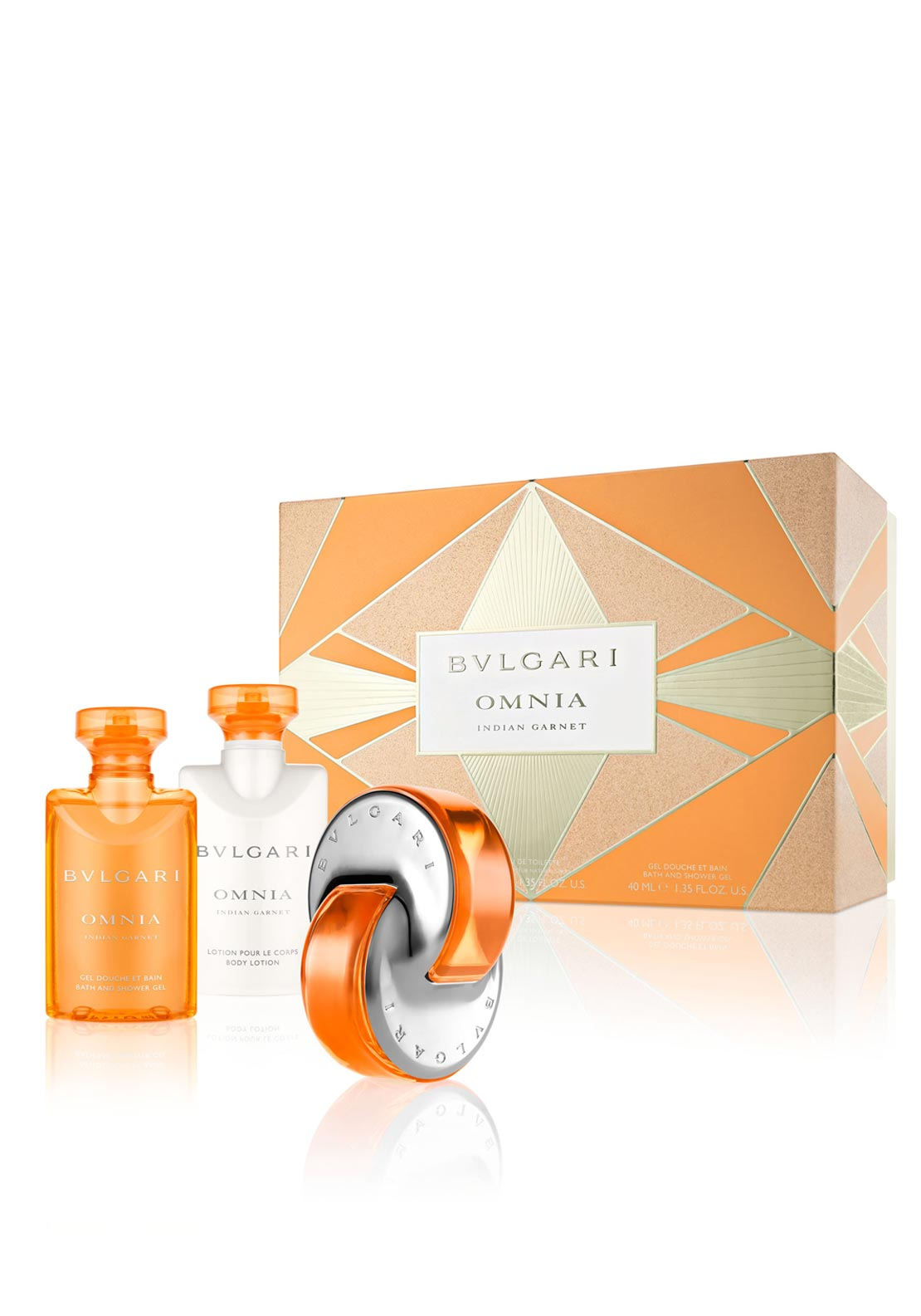 Bvlgari Omnia Indian Garnet Womens Gift Set, 40ml