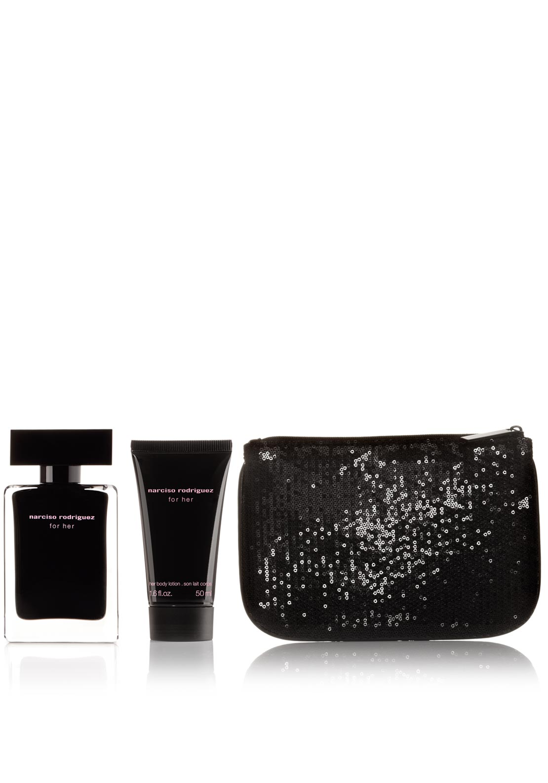 Narciso Rodriguez Eau De Toilette Gift Set for Her, 50ml