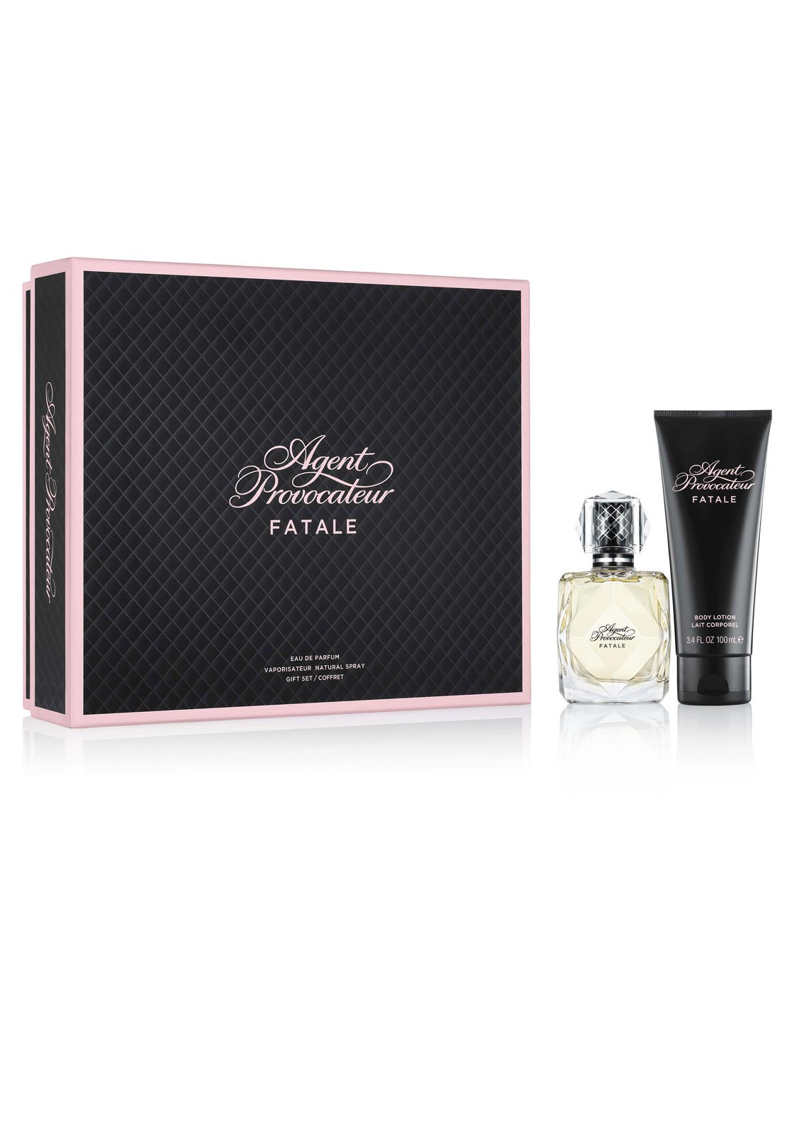 Agent Provocateur Fatale Eau De Parfum Gift Set for Women, 50ml