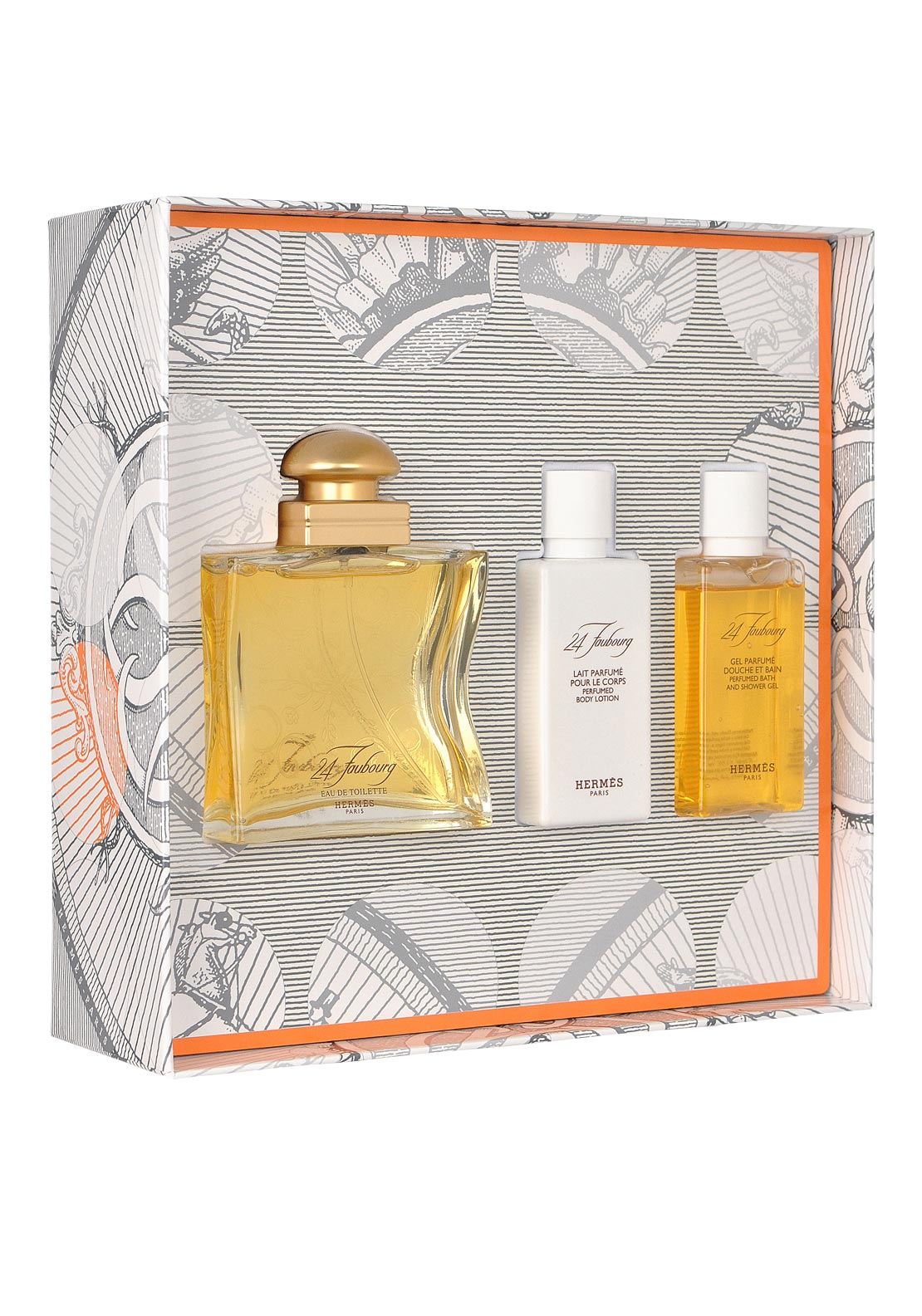 Hermes 24 Faubourg Eau De Toilette Gift Set for Women, 50ml