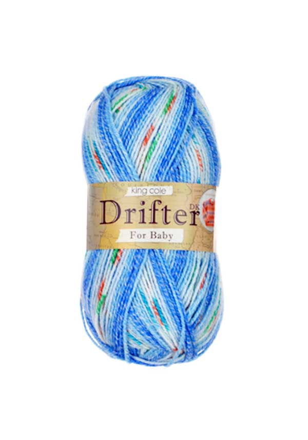 King Cole Drifter Double Knit for Baby, 1379 Boy Blue