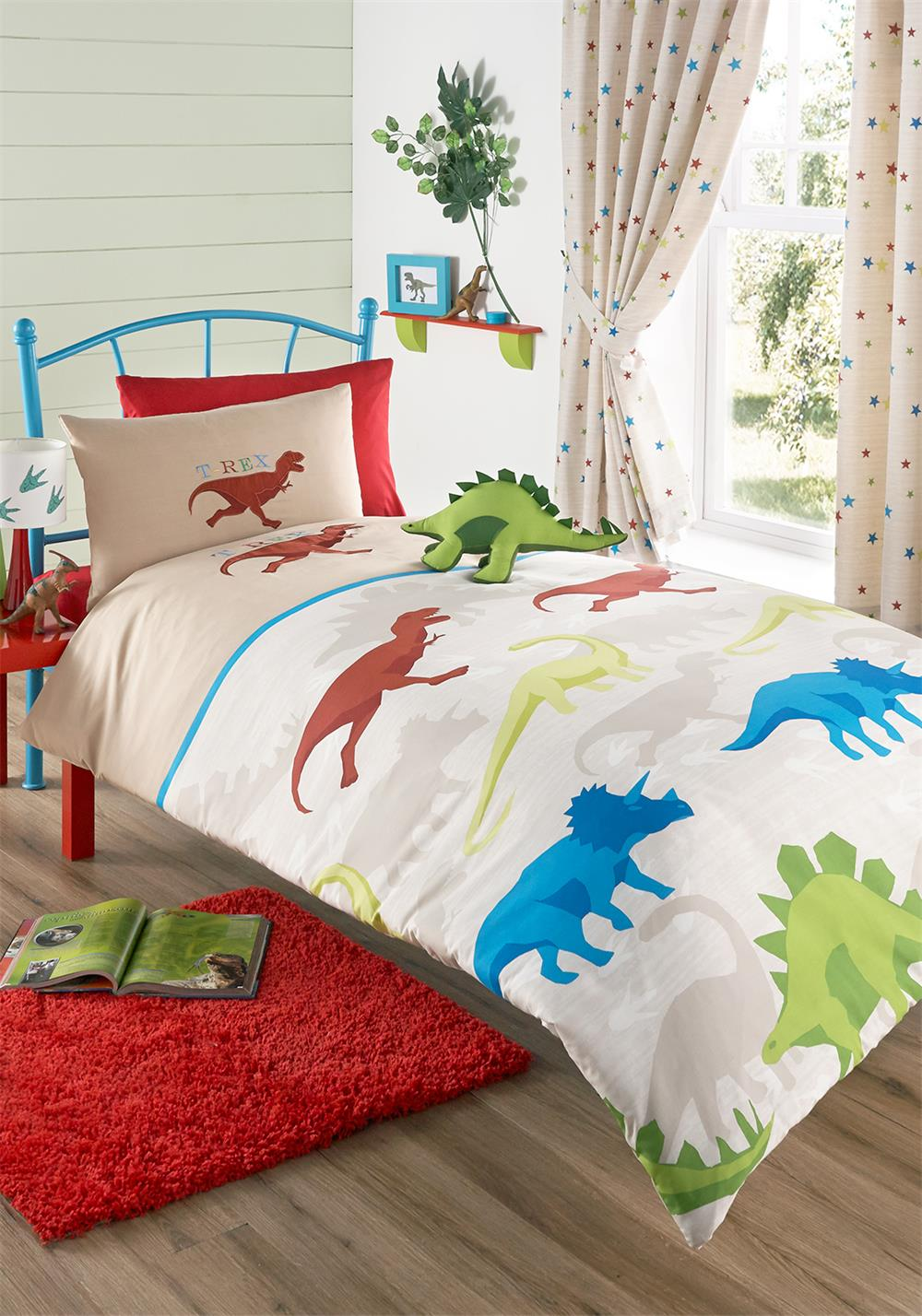 Kids' Club Lost World Duvet Set, Multi-Coloured