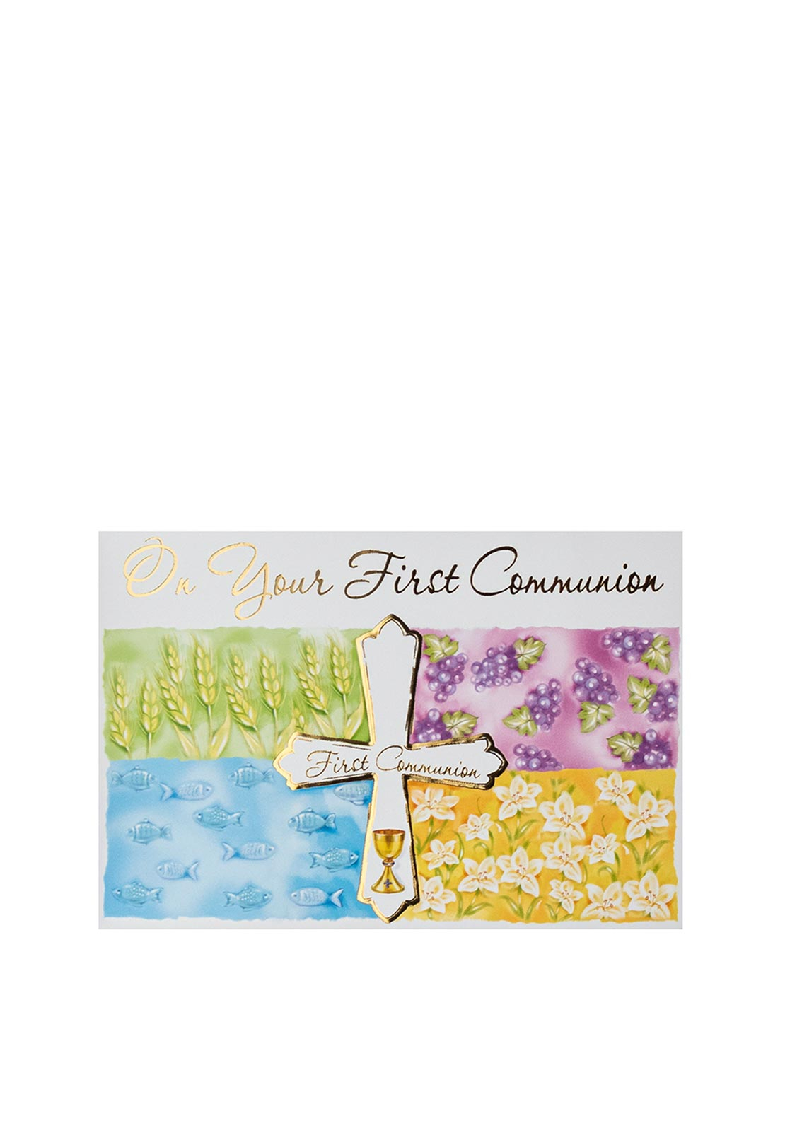 On Your First Communion Gift Card