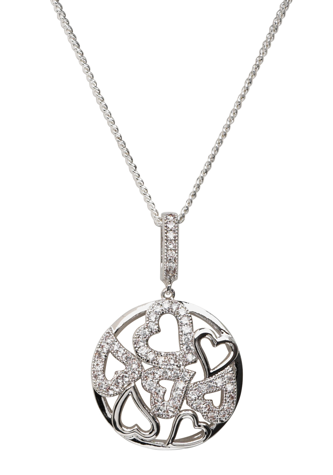 Killarney Crystal Elements of Love Pendant