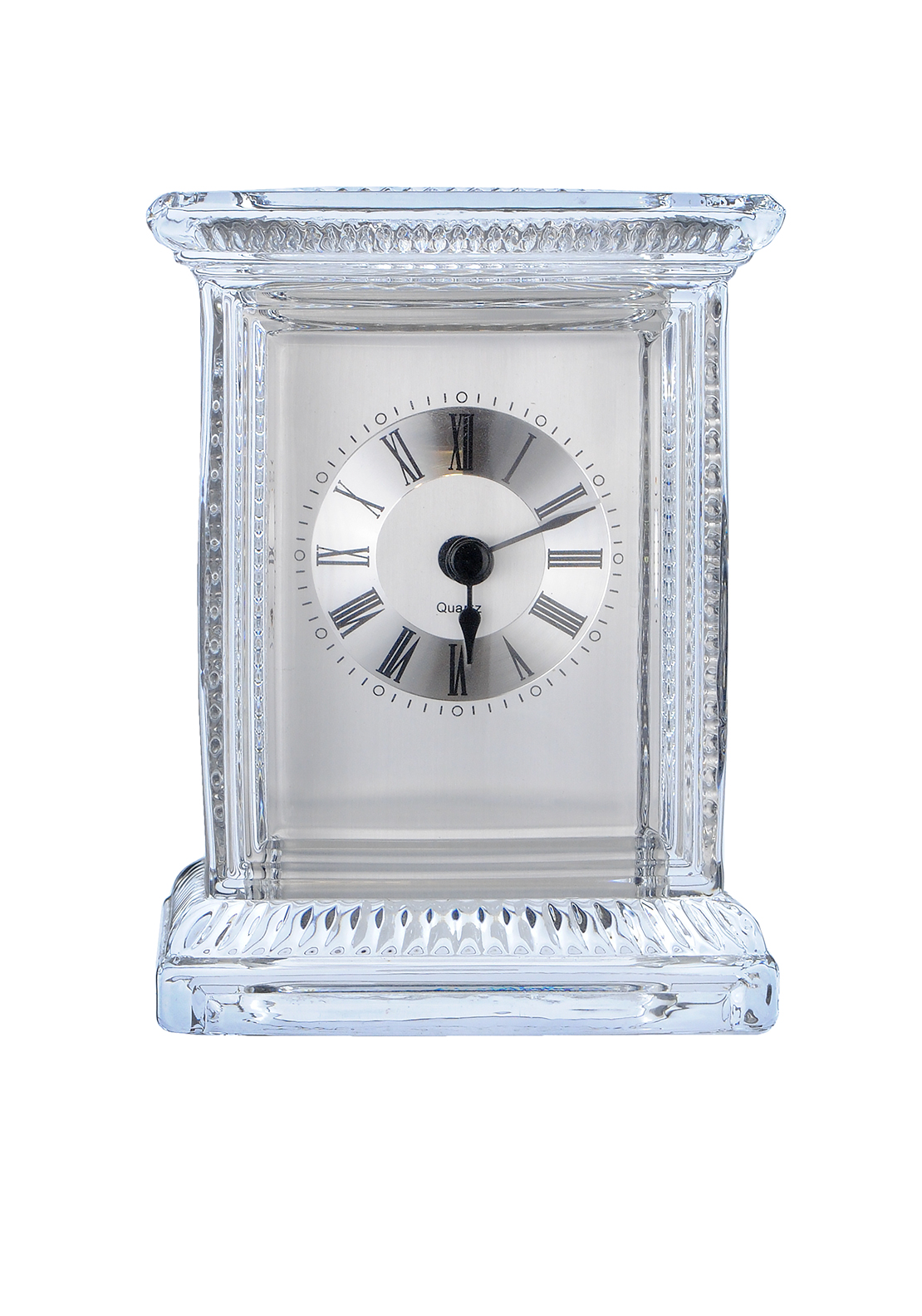 Killarney Crystal Carriage Clock