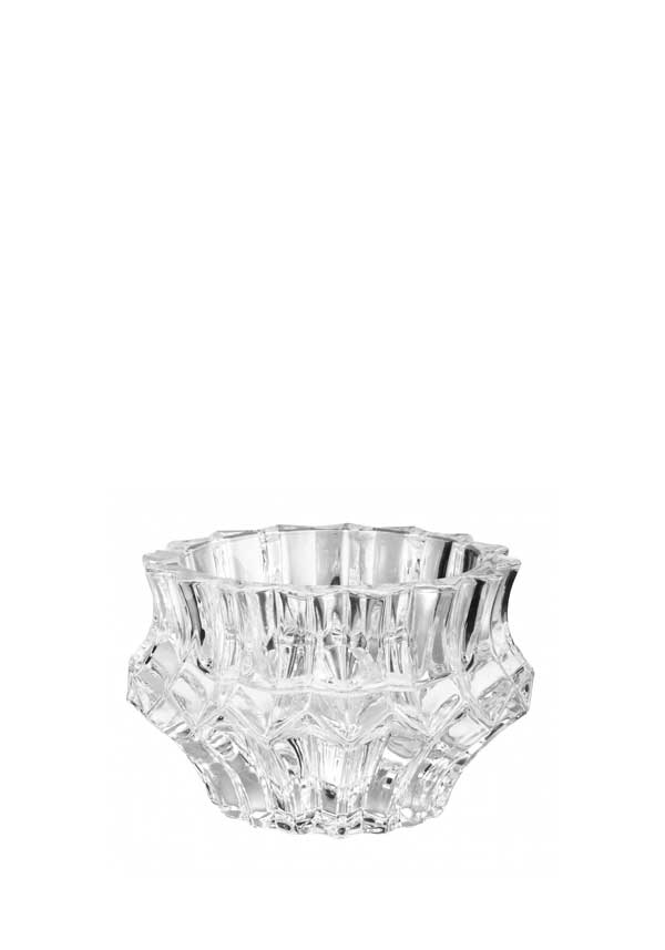 Killarney Crystal Skelling Pillar Candle Holder