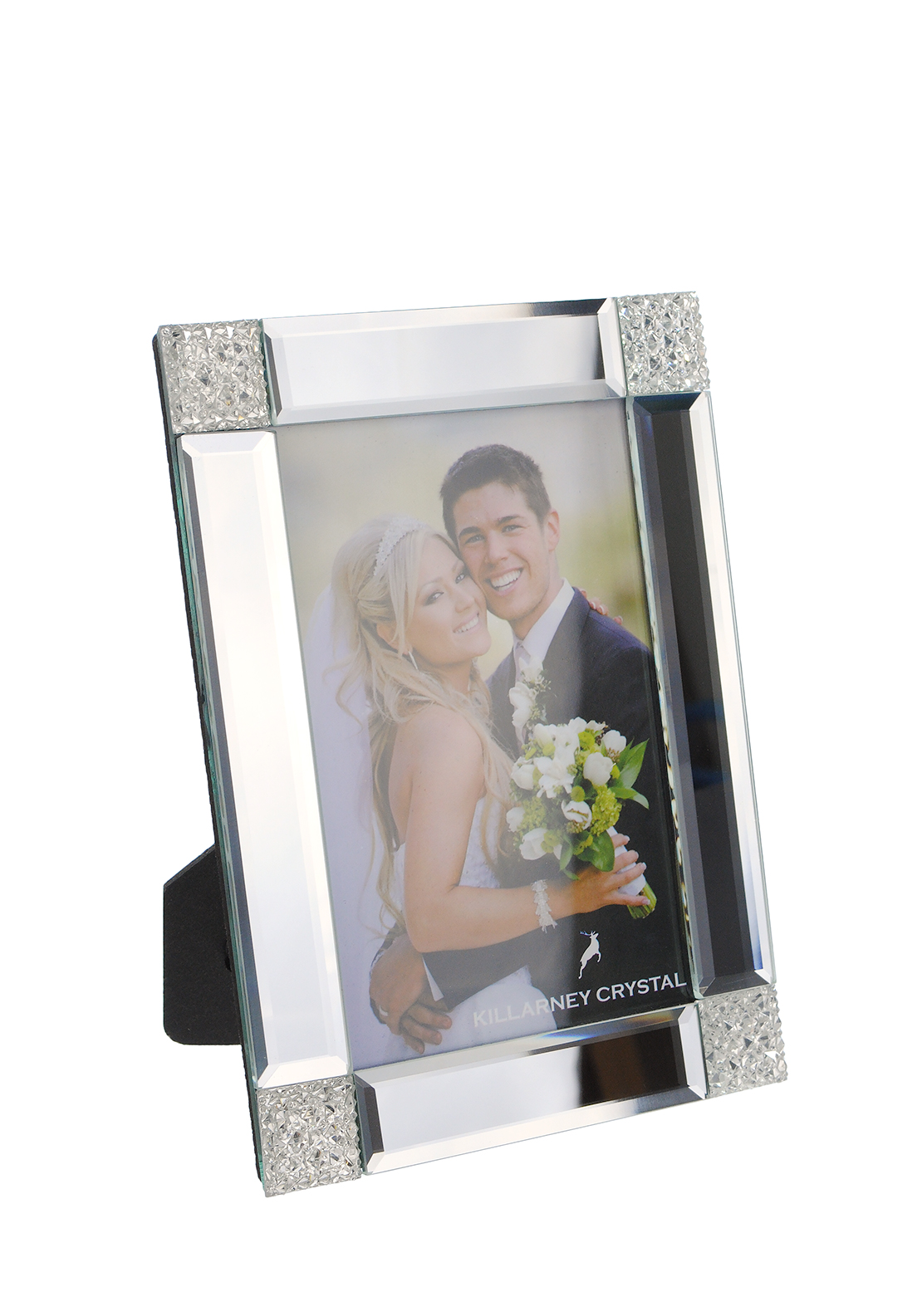 Killarney Crystal Platinum Collection Photo Frame, 4 x 6 inches