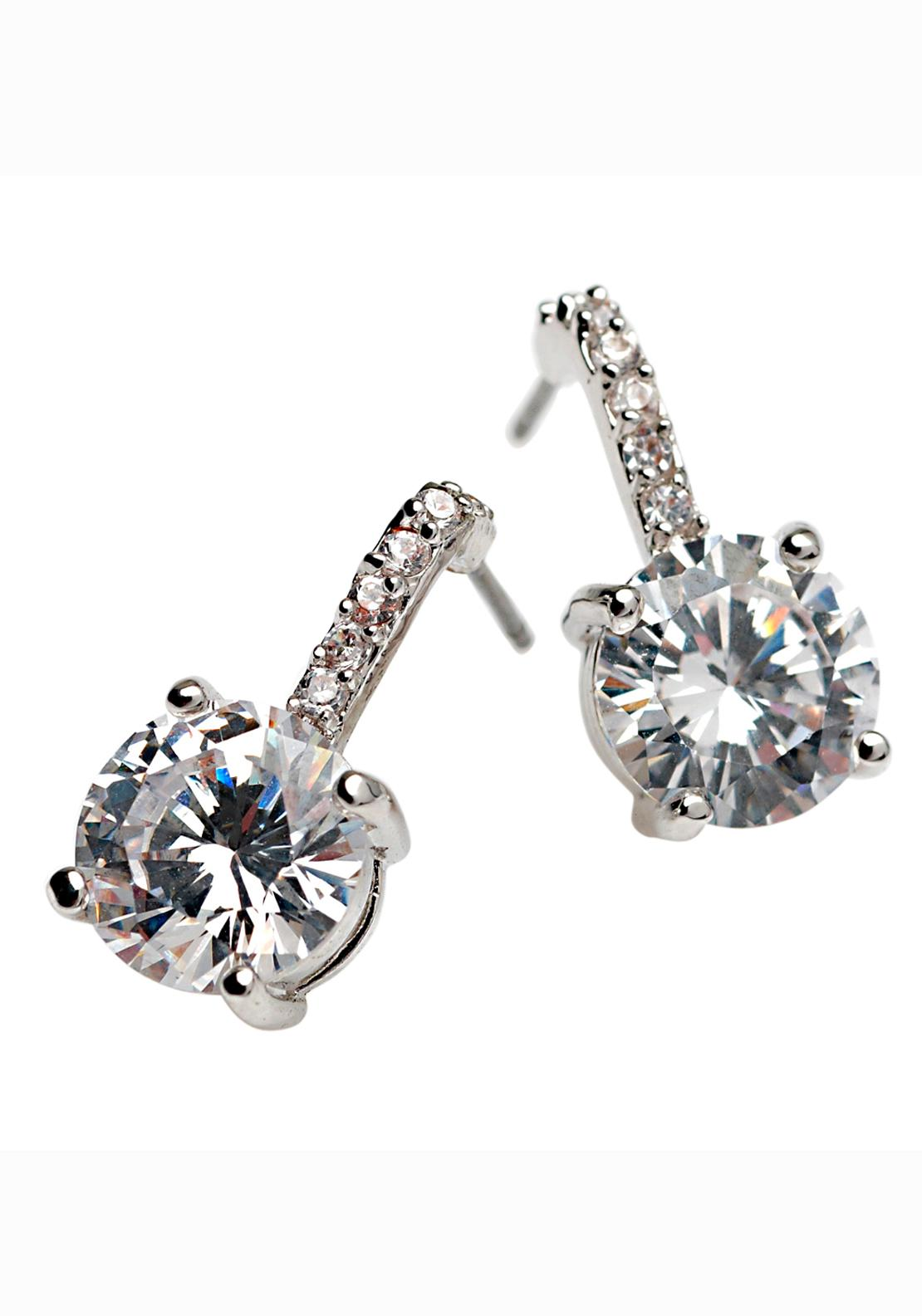 Killarney Crystal Opulence Square Drop Earrings