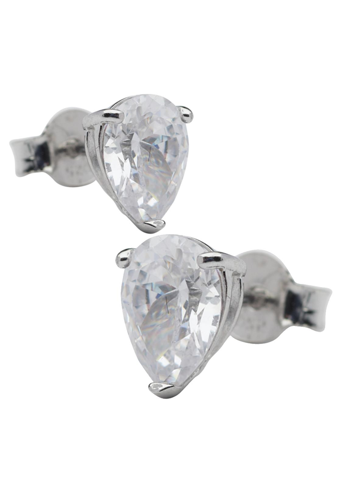 Killarney Crystal Opulence Teardrop Solitaire Earrings