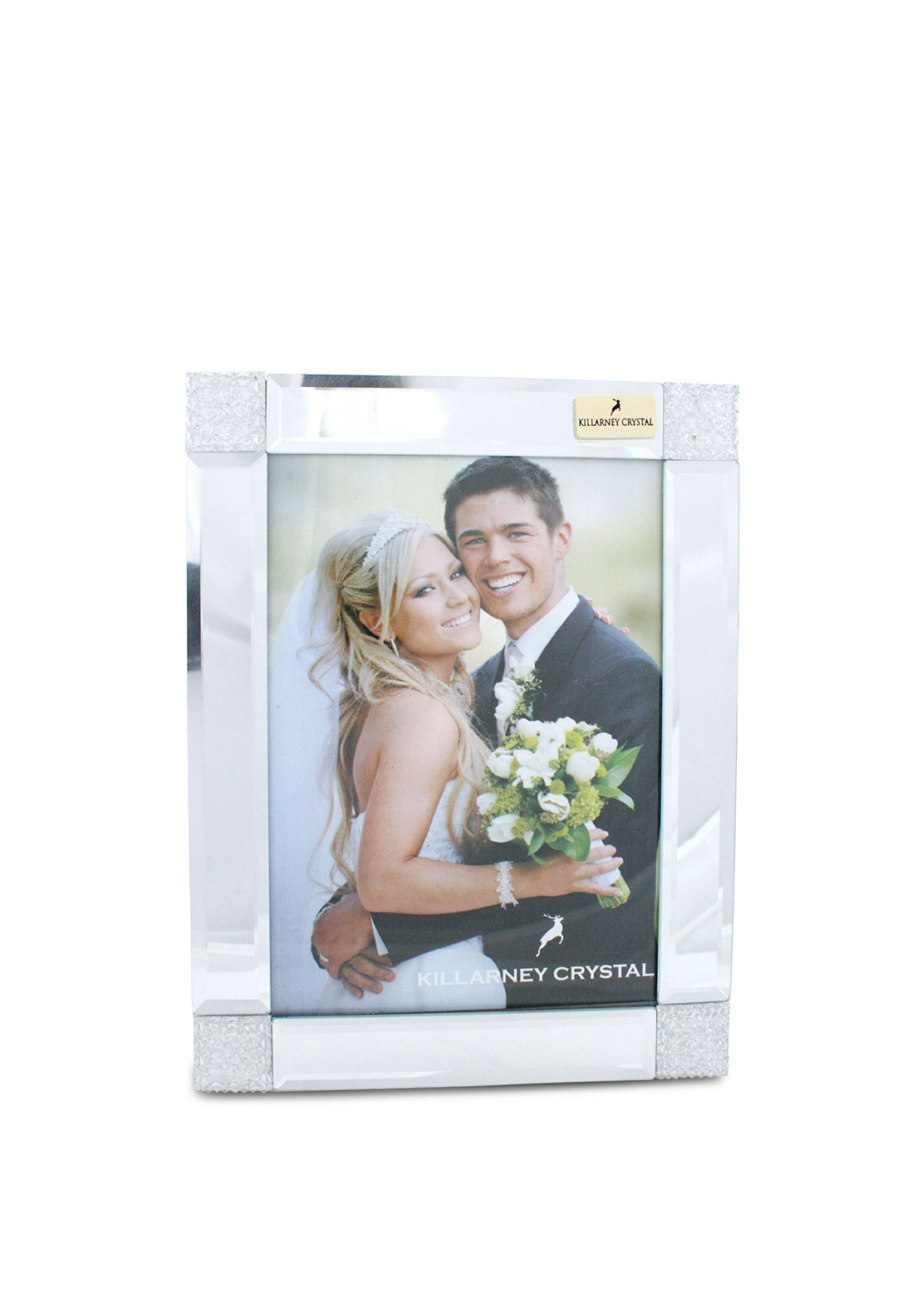 Killarney Crystal Embellished Photo Frame, 8 x 10""