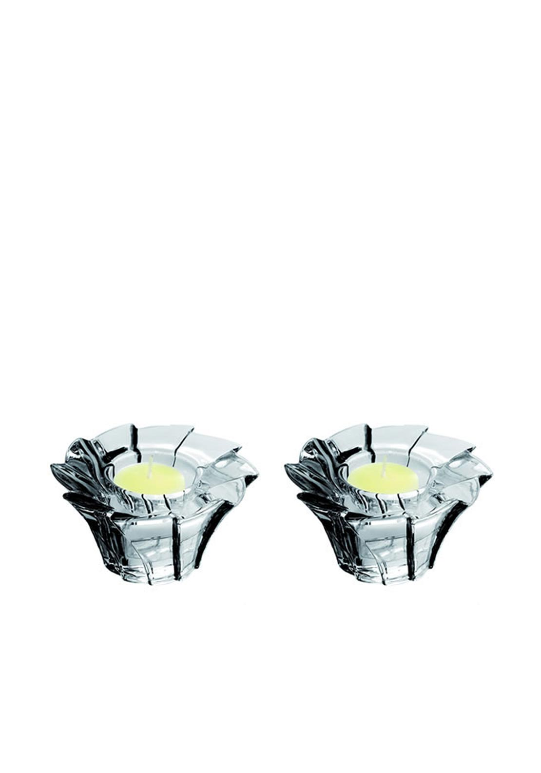 Newgrange Living Lulu Tea Light Set of 2, Black