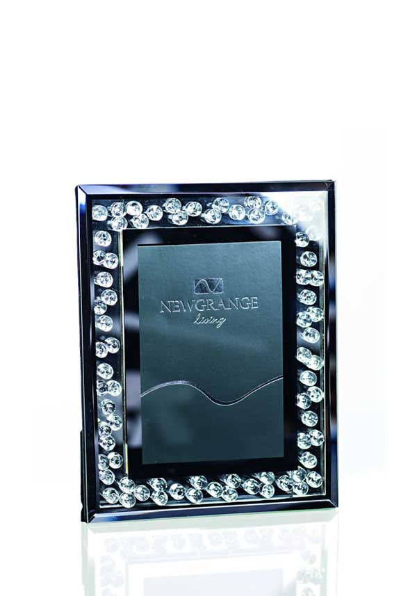 Newgrange Living Optica Diamonds Photo Frame, 4 x 6""
