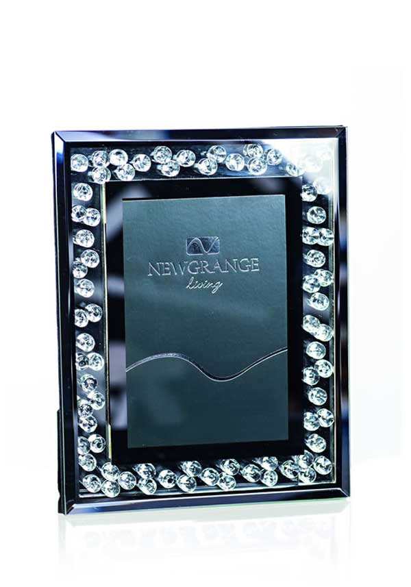 Newgrange Living Optica Diamonds Photo Frame, 5 x 7""