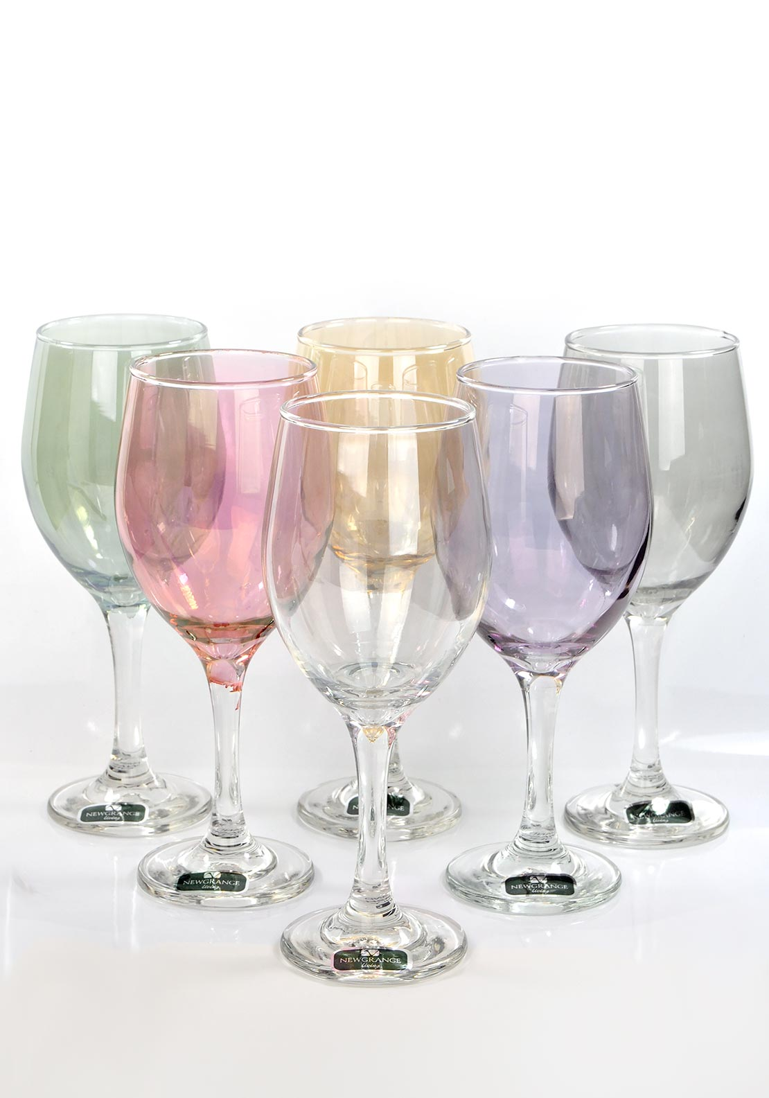 Newgrange Living Lustre Wine Glasses Set of 6 Party Glasses