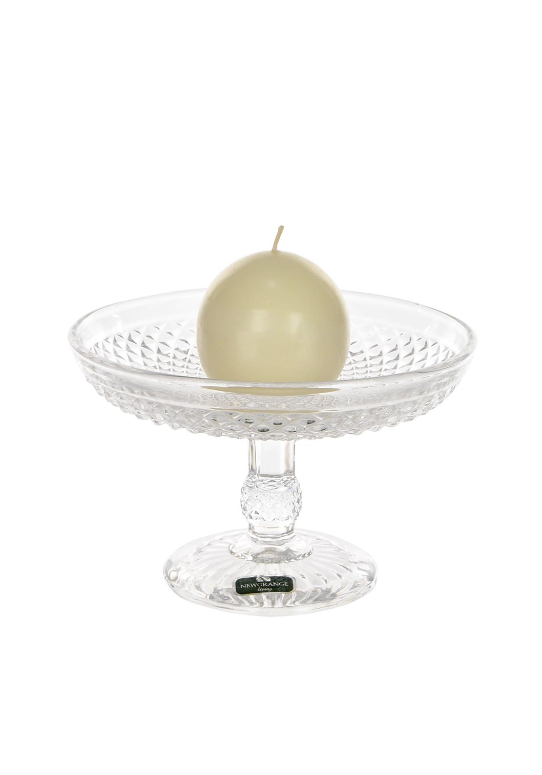 Newgrange Living Enigma Ball Candleholder, Glass