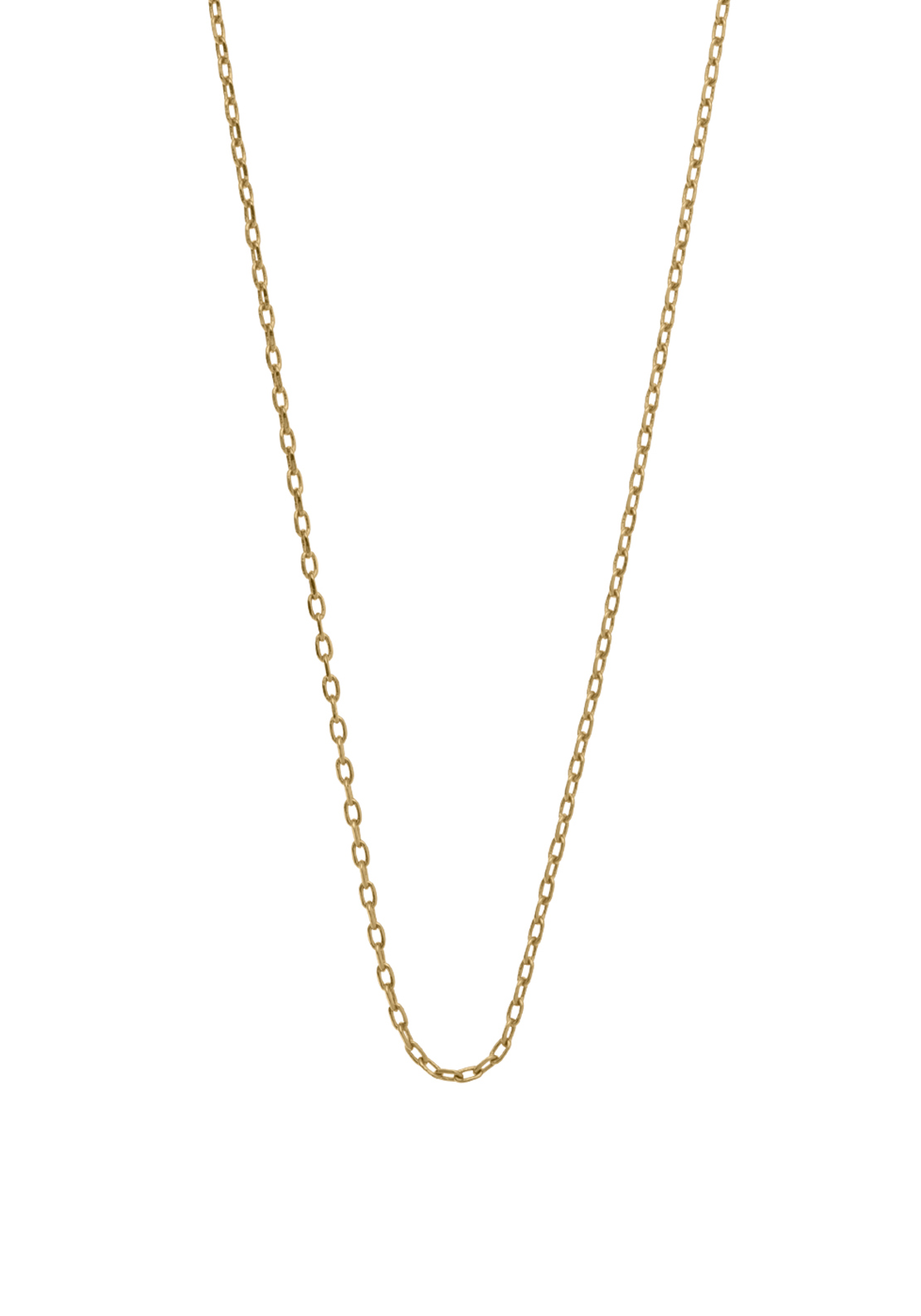 "Kirstin Ash Link Chain 18-20"", Gold Plated"
