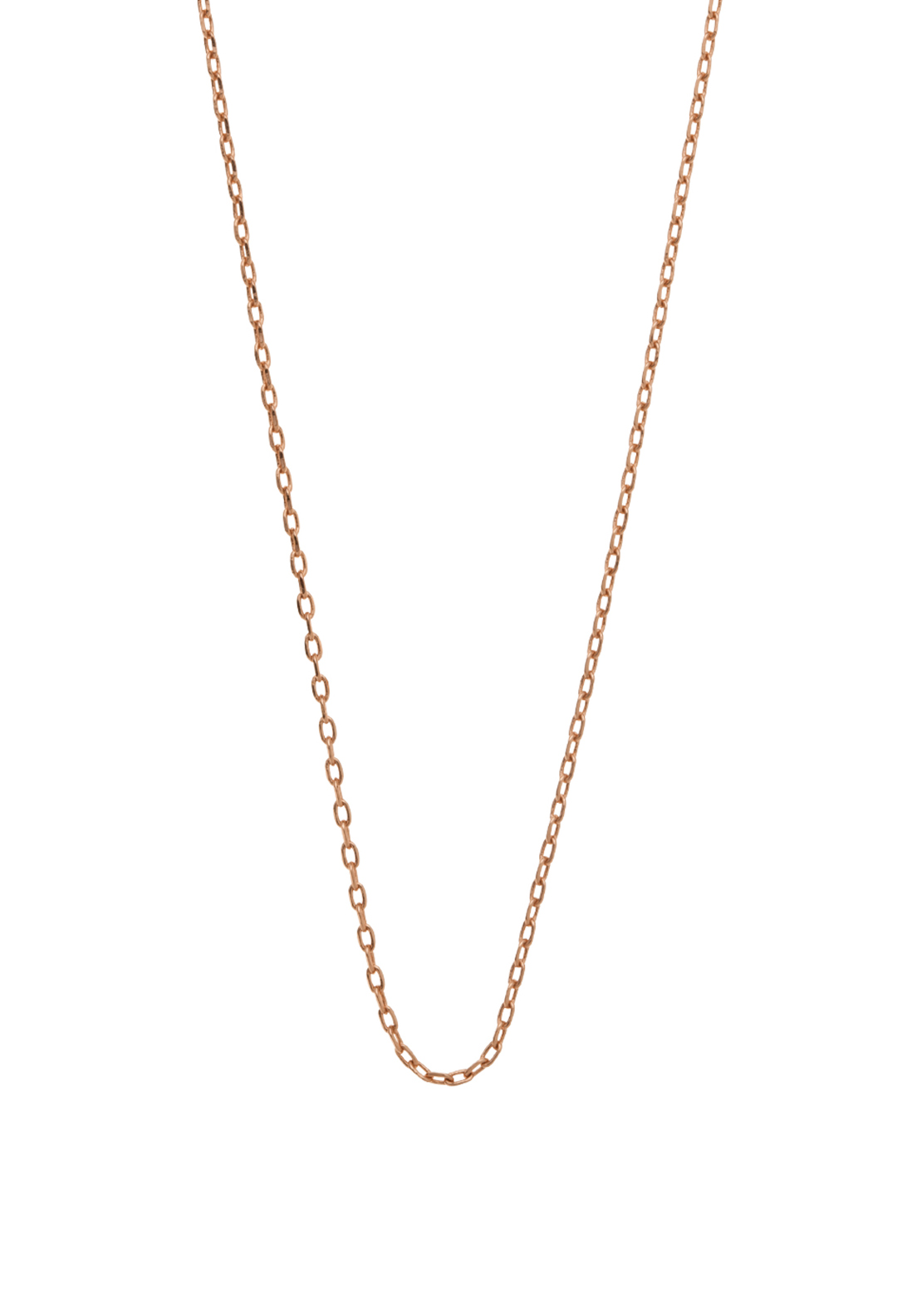 "Kirstin Ash Ball Chain 18-20"", Rose-Gold Plated"