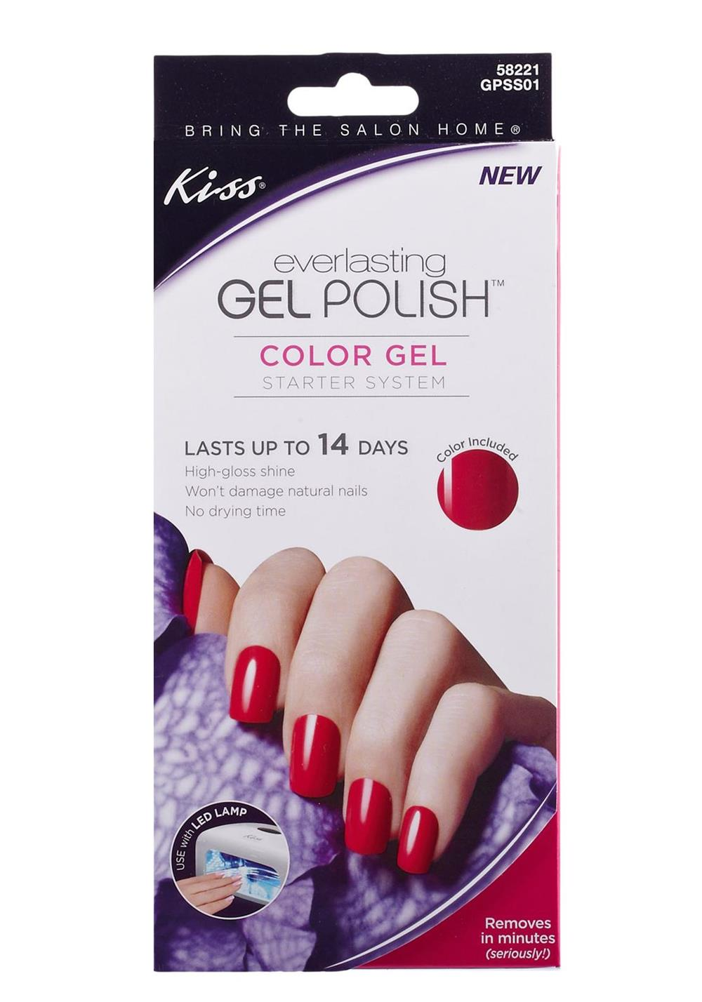 Kiss Everlasting Gel Polish Starter Kit