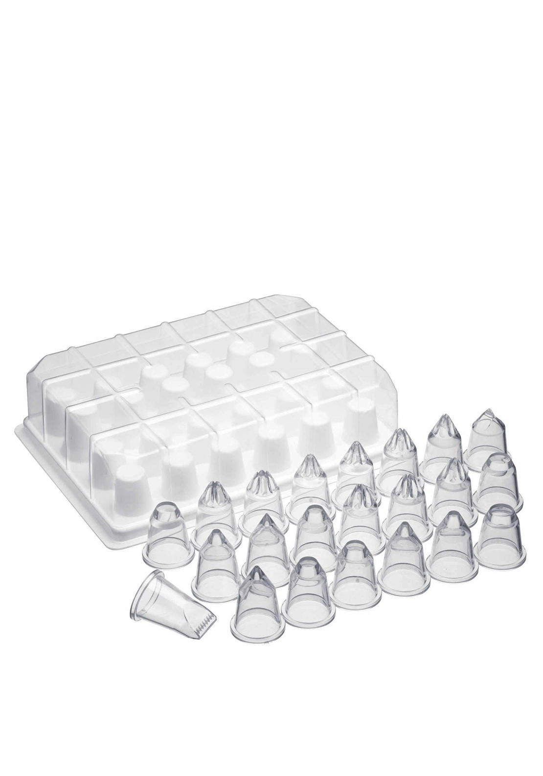 Kitchen Craft Set of 24 Icing Nozzles
