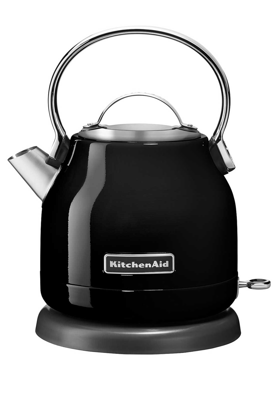 KitchenAid 1.25L Dome Electric Kettle, Onyx Black