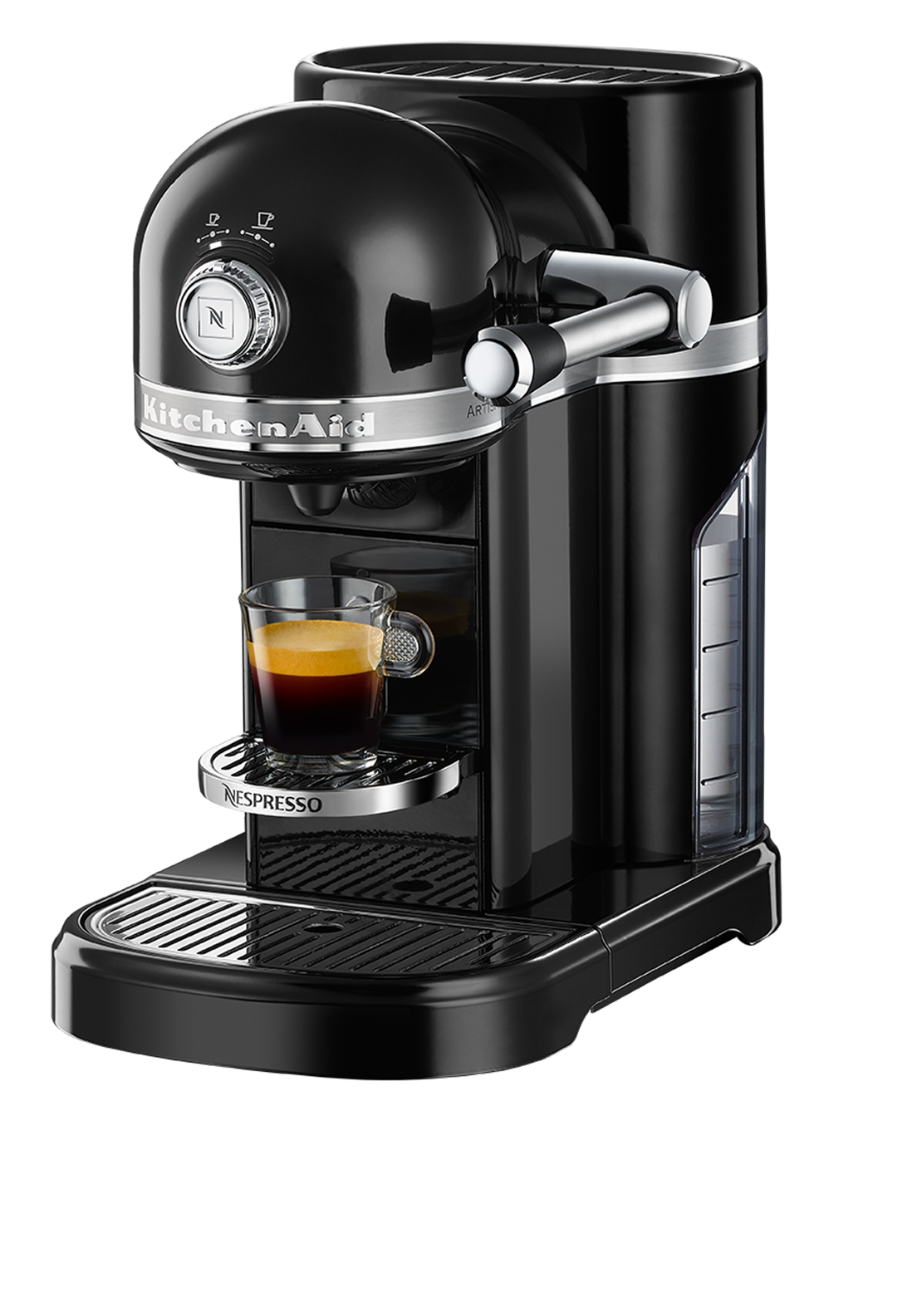 Nespresso KitchenAid Coffee Machine, Onyx Black