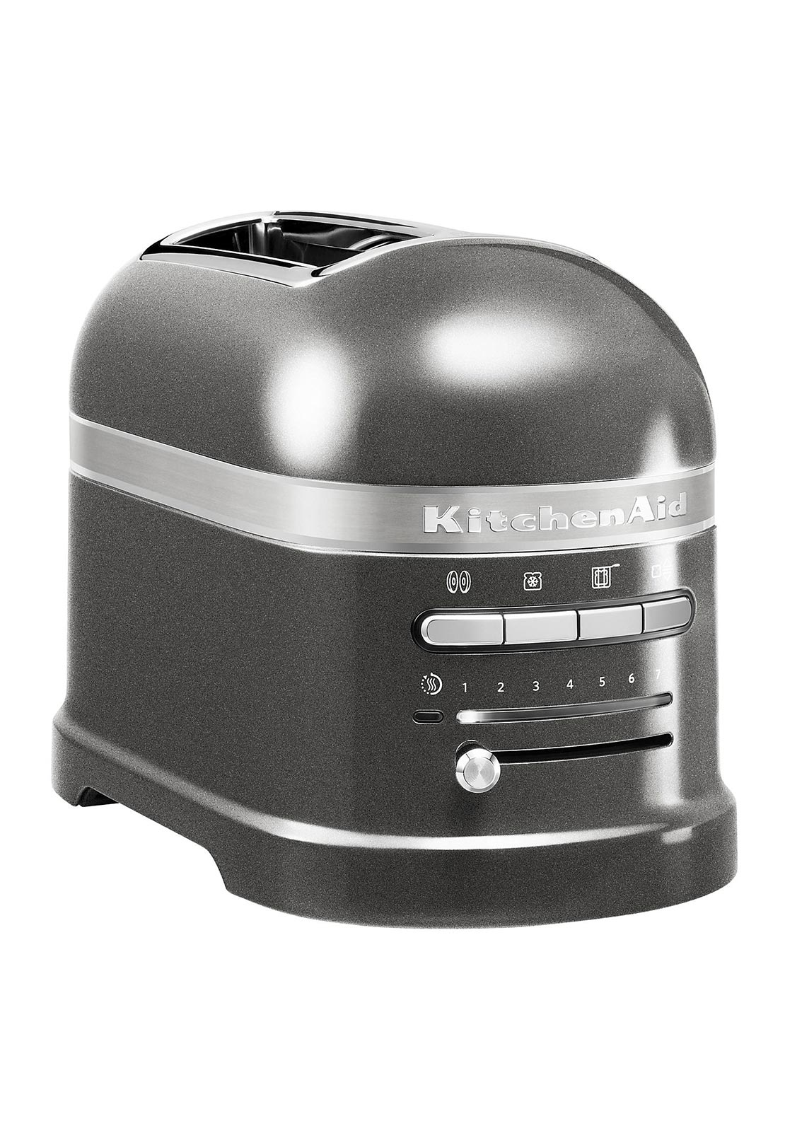 KitchenAid Artisan Two Slice Toaster, Medallion Silver