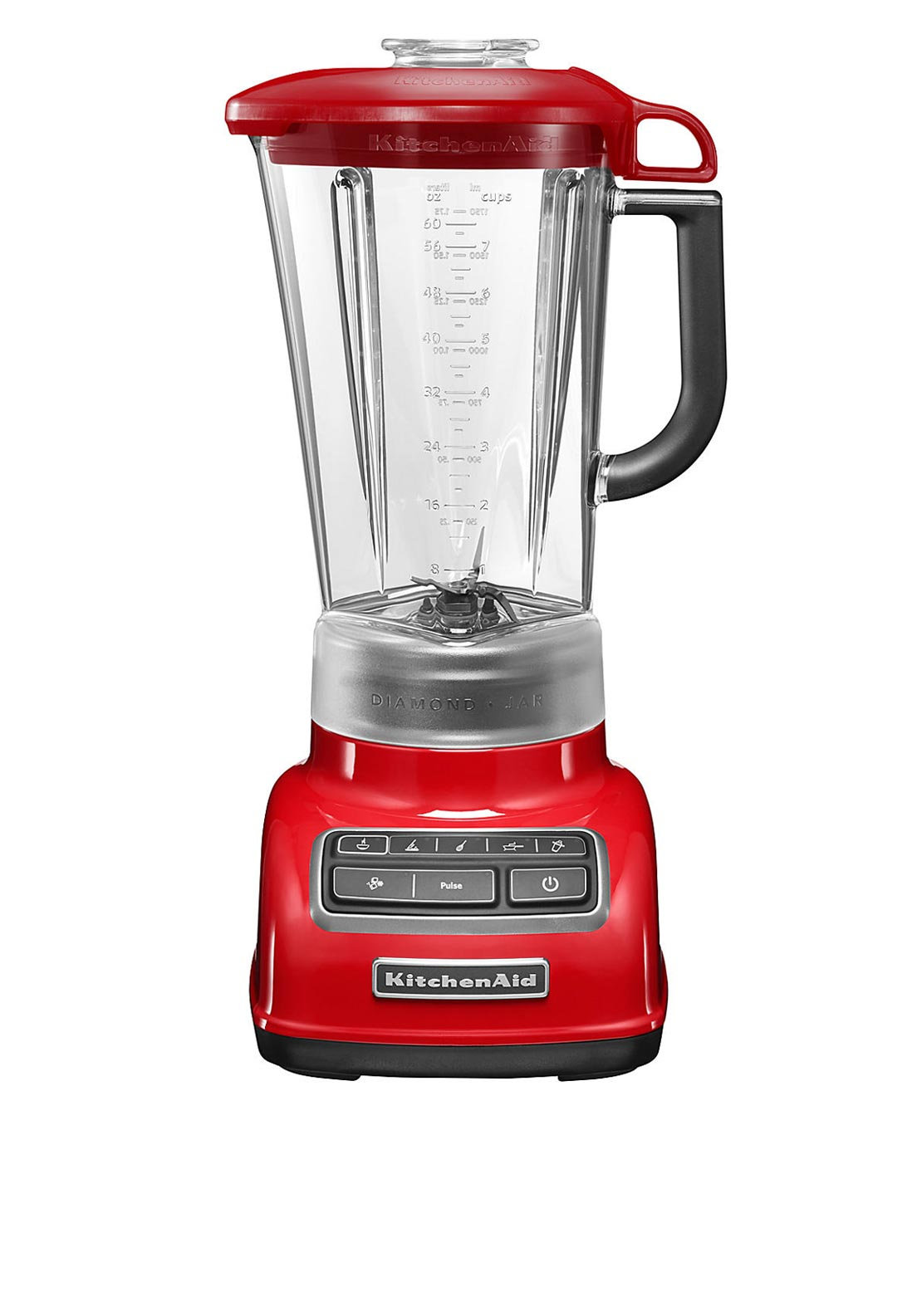 KitchenAid Diamond Blender 1.75L, Red