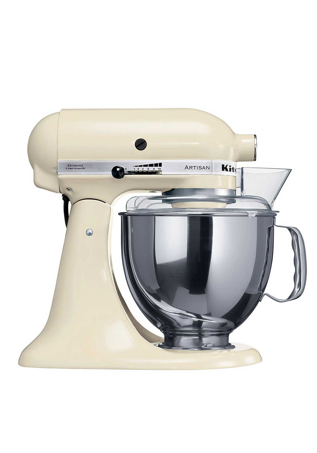 KitchenAid Artisan Stand Kitchen Mixer 4.8L, Almond Cream