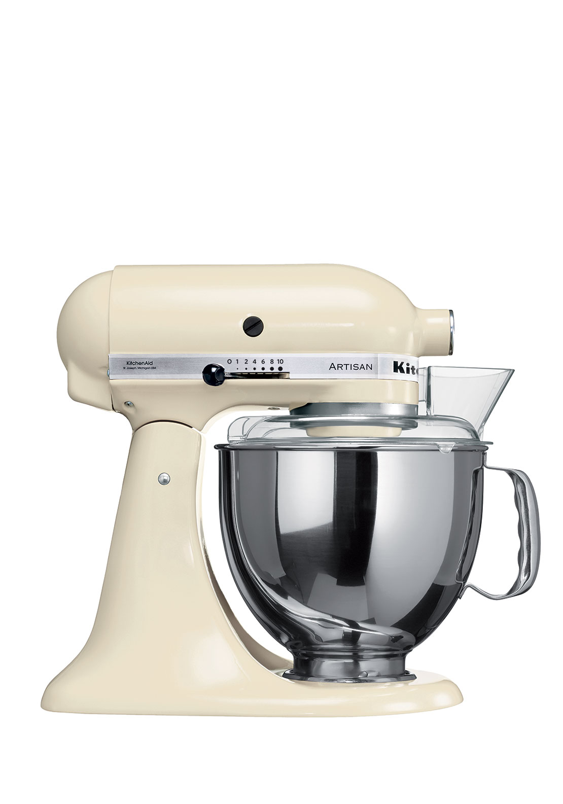 KitchenAid Artisan Tilt Head Stand Mixer, Almond Cream 4.8L