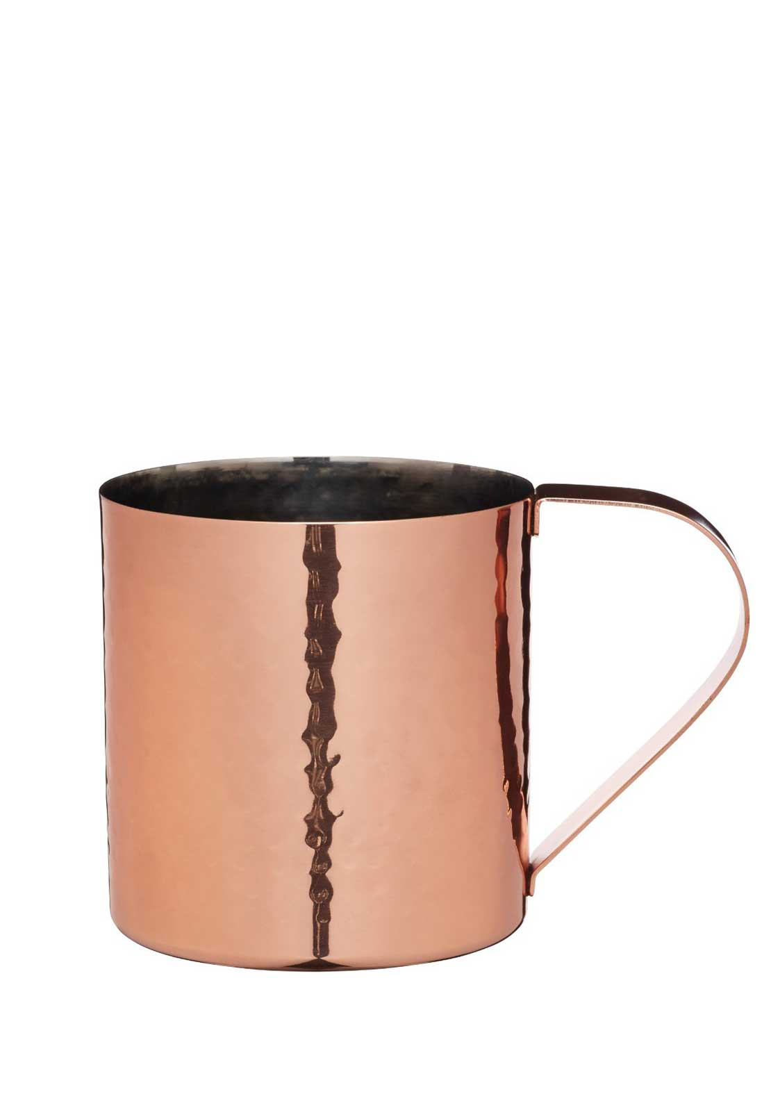 Kitchen Craft Bar Craft Hammered Moscow Mule Mug, Copper