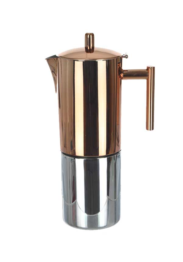 Le'Xpress form KitchenCraft Copper Finish Espresso Maker