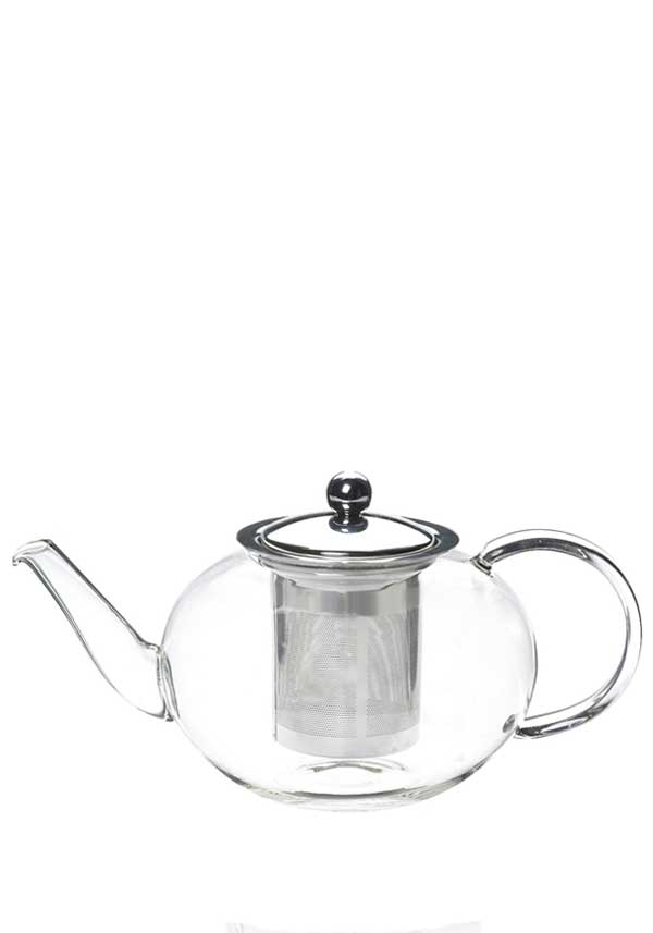 Le'xpress Glass Infuser Teapot, 8 cup