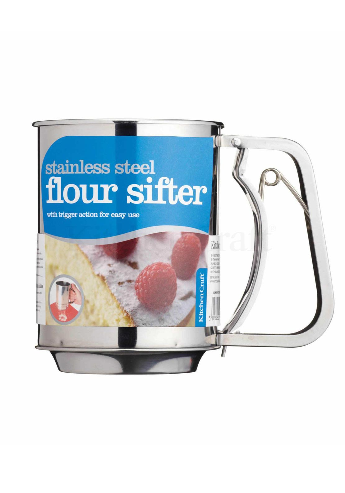 Kitchen Craft Stainless Steel Flour Sifter