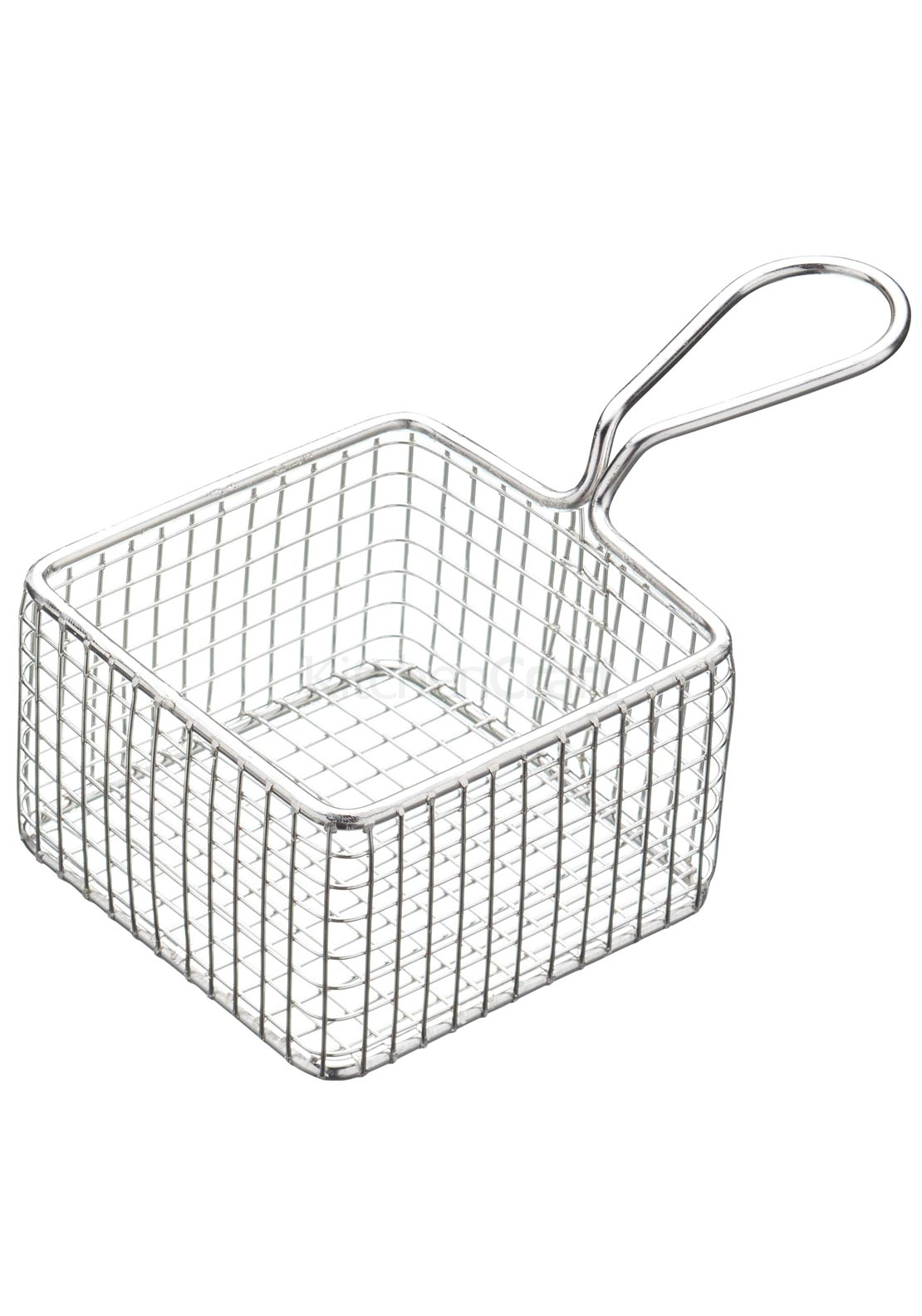 Kitchen Craft Mini Deluxe Stainless Steel Square Fry Basket
