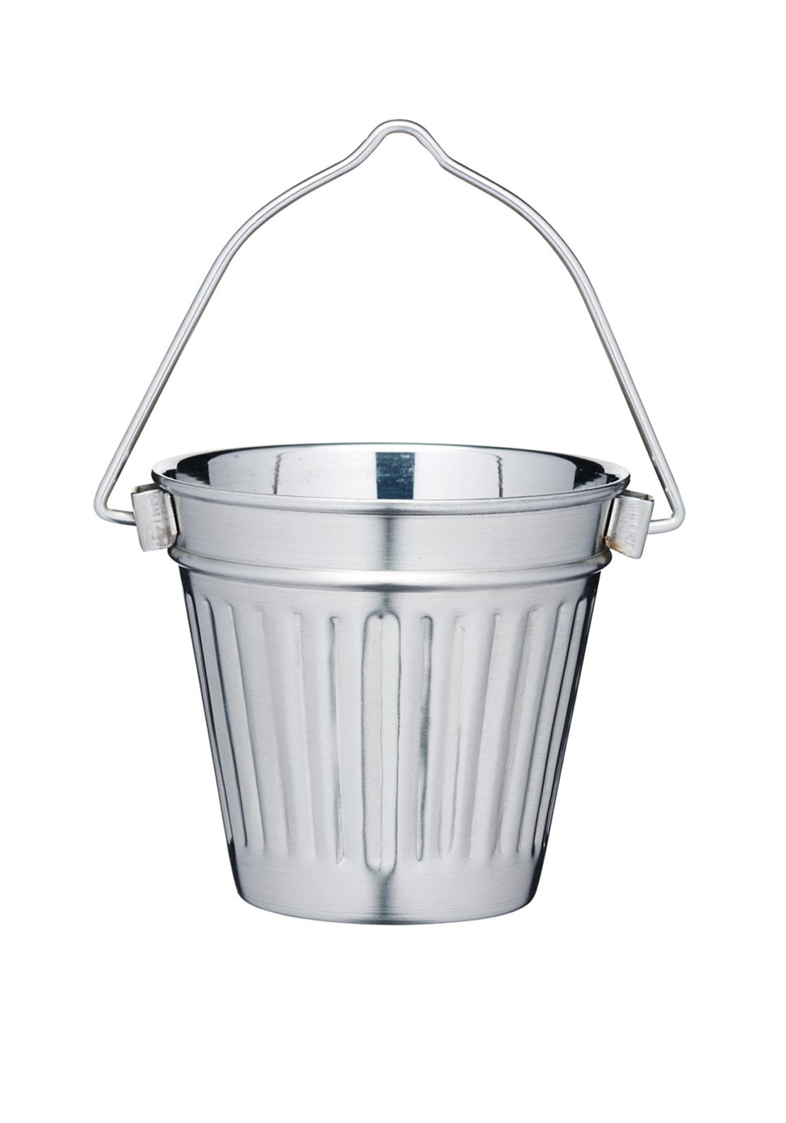 Kitchen Craft Mini Deluxe Stainless Steel 9cm Serving Pail