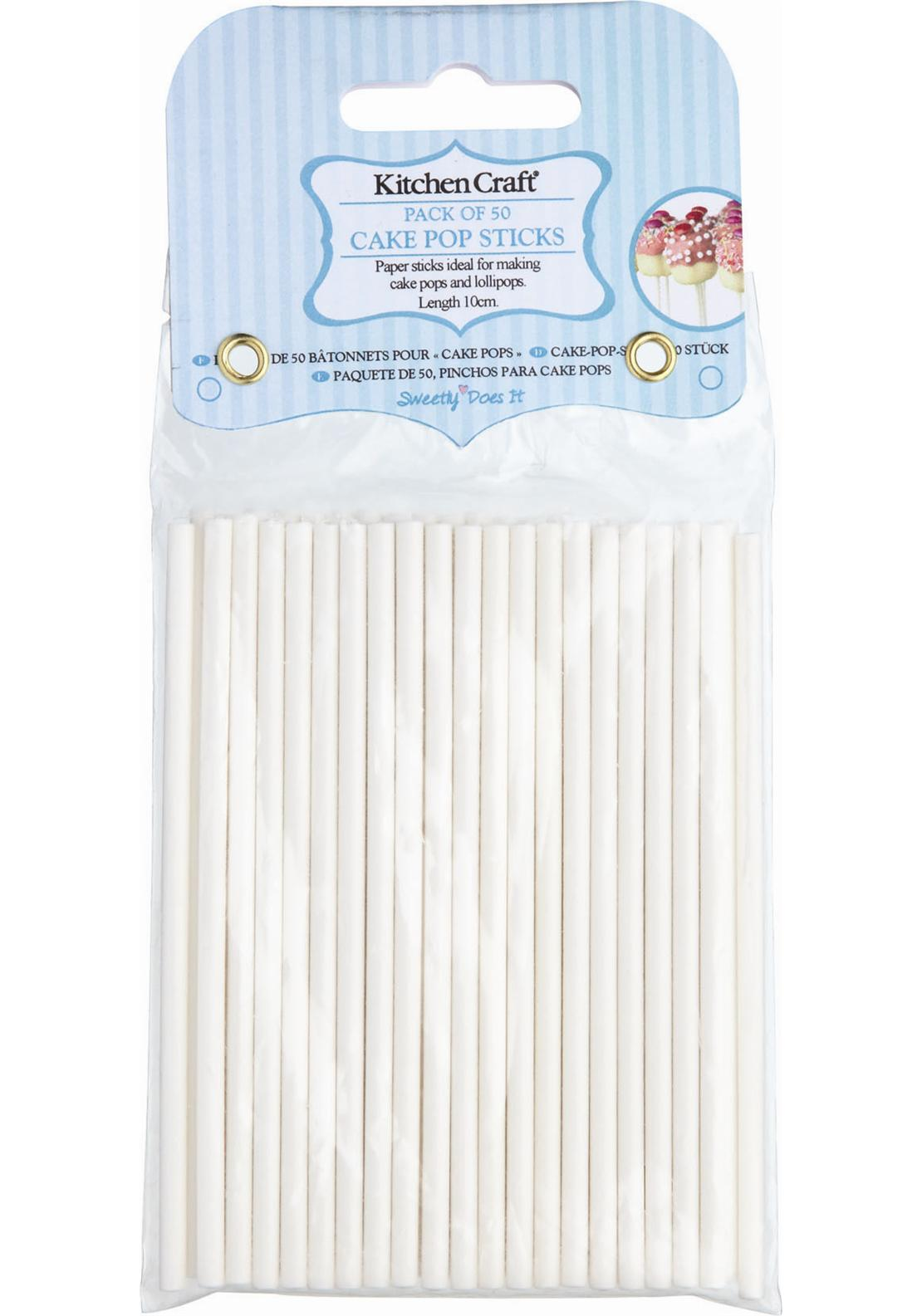 Sweetly Does It 10cm Cake Pop Sticks (Pack of 50)