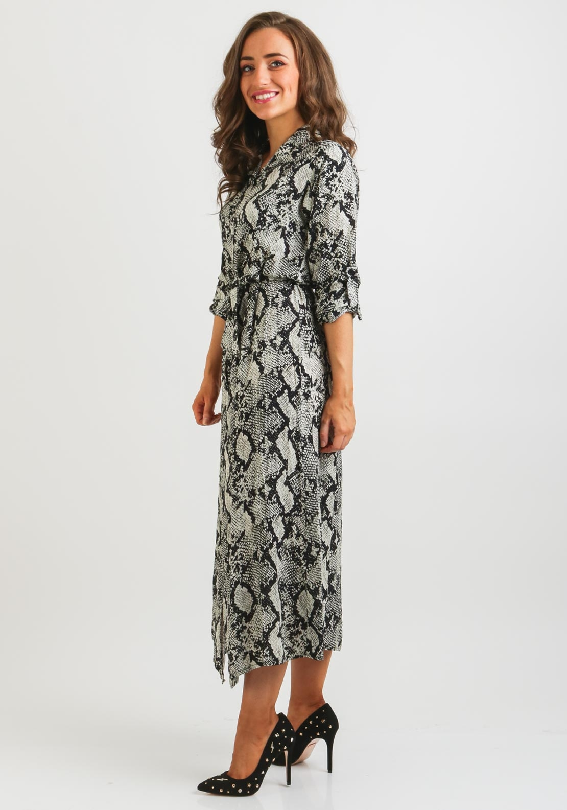 You re reviewing  Boutique Snake One Size Shirt Dress 37f266590dc