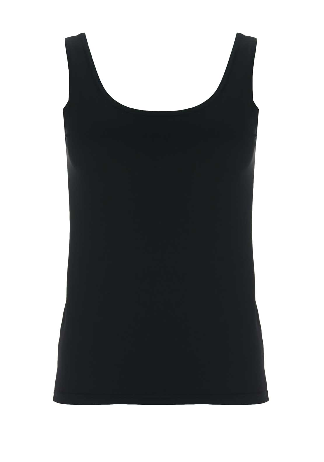 d.e.c.k. by Decollage Pia Vest Top, Black