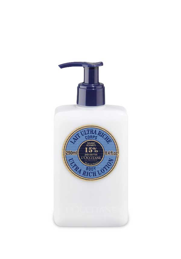 L'Occitane Shea Butter Ultra Rich Body Lotion, 250ml