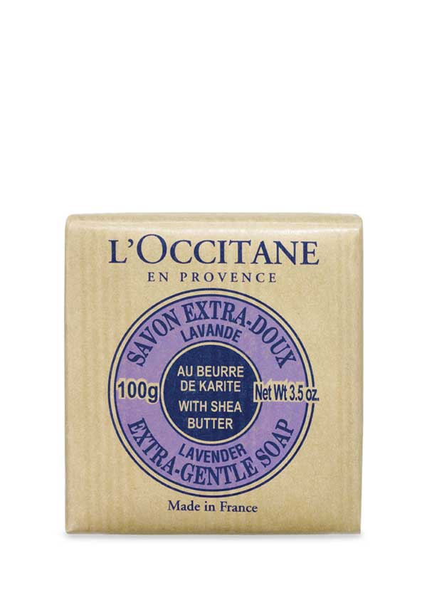 L'Occitane Lavender Shea Butter Extra Gentle Soap, 100g