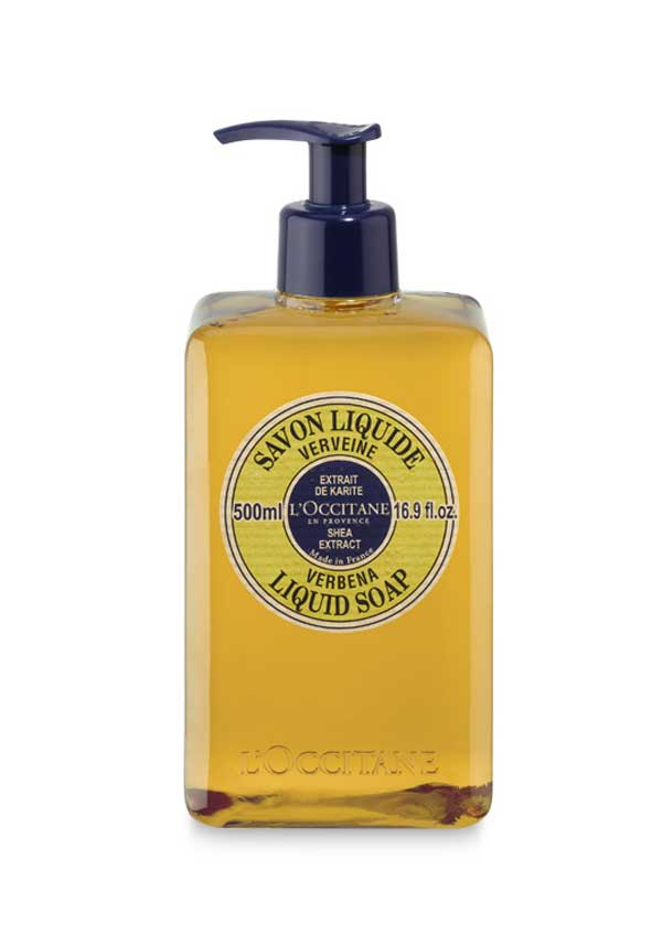 L'Occitane Verbena Shea Butter Liquid Soap, 500ml