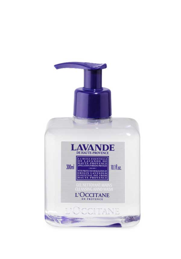 L'Occitane Lavender Cleansing Hand Wash, 300ml