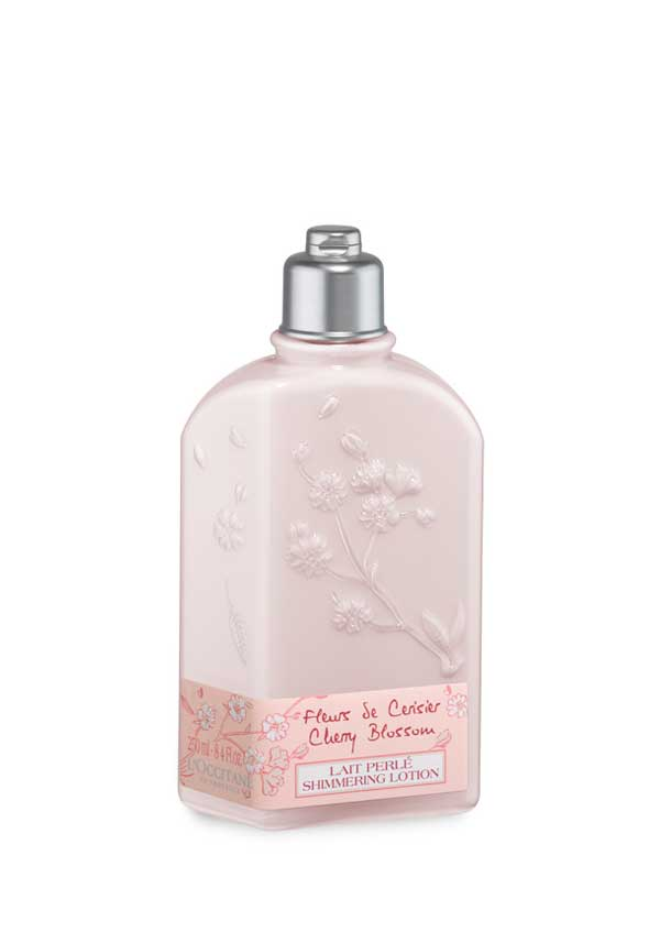 L'Occitane Cherry Blossom Shimmering Lotion, 250ml