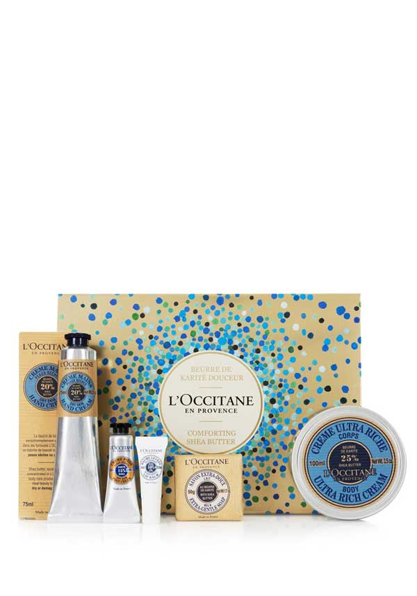 L'Occitane Comforting Shea Butter Bath and Body Collection