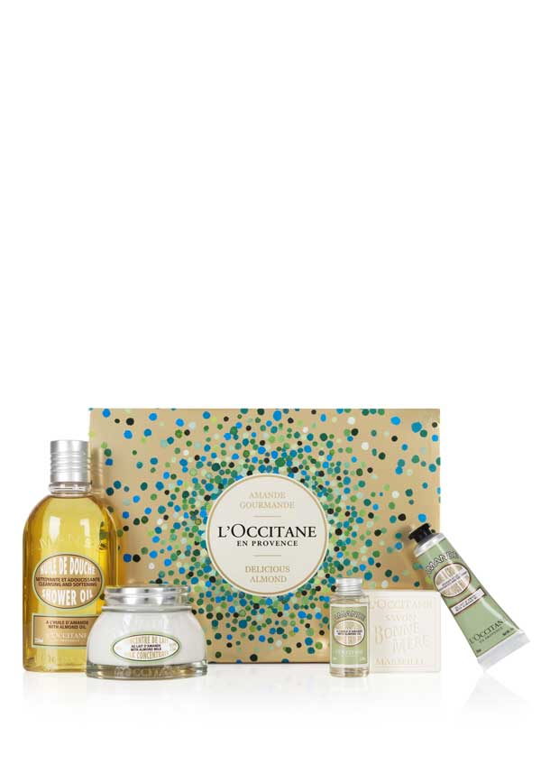 L'Occitane Delicious Almond Bath and Body Collection
