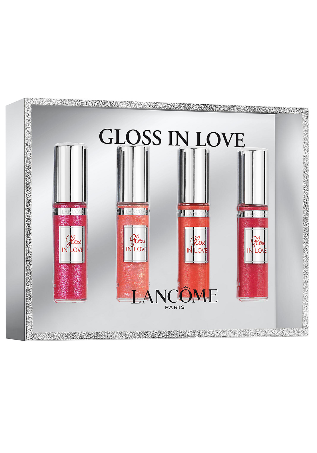 Lancome Gloss in Love Lipglaze Gift Set, 4pce by Lancome