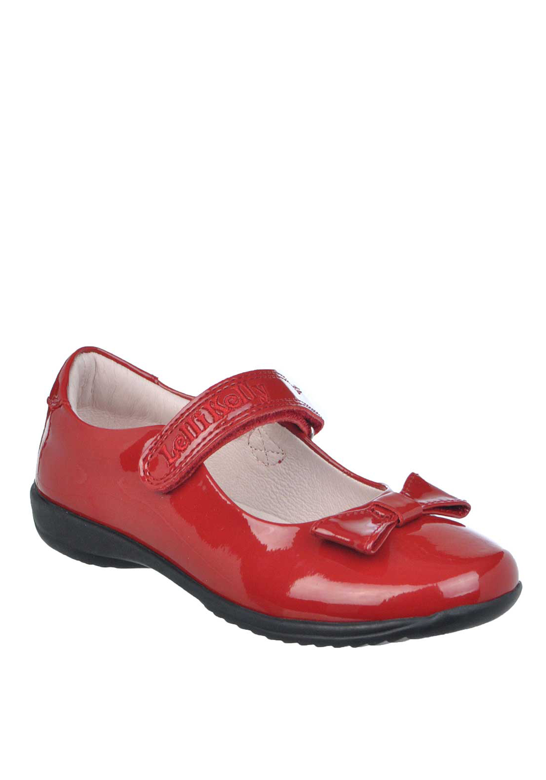 Lelli Kelly Girls Patent Leather Mary Jane School Shoes, Red